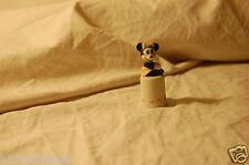 Rare Scarce Disney Collectibles Schmid Miniature Ceramic Minnie Mouse Figurine