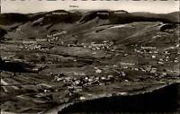 Bernau Schwarzwald Postkarte 1958 Panorama mit Riggenbach Feldberg Schulhaus u.a