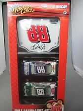 BRAND NEW DALE JR 2 CARS AND HOOD   DIECAST 1:64 SCALE