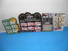 Boston Red Sox-Bruins-Partriots-Celtics 4-Teams Championship Magnets Package