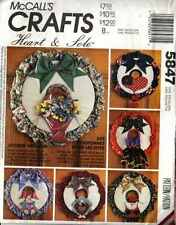 WREATH PATTERN SEASONAL 4TH OF JULY Spring BUNNY Turkey SANTA 5847