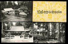 Japan JAPANESE STRUCTURES Mt Hiei Black & White Original Wrapper 8x PPCs