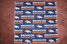 NFL DENVER BRONCOS HEAD BANDANA - CHEERING CLOTH APPROX 22 1/2 ""