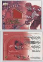 2001-02 Upper Deck Superstar Sweaters SS-SY Steve Yzerman Detroit Red Wings Card
