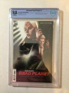 Dceased Dead Planet #1 CBCS 9.8 Oliver Movie Variant 1st Cassie Sandsmark as WW