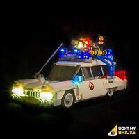 LIGHT MY BRICKS - LED Light Kit for LEGO Ghostbusters Ecto-1 set 21108