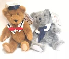Lot Gund Bears - Pre-owned with Tags - Bialosky Bears Sailors Gray And Brown