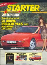 Starter n.30/31 1986,Susanna Messaggio,Niki Lauda,inserto Starlet