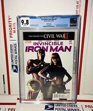 CGC 9.8 INVINCIBLE IRON MAN #7 1ST APPEARANCE & COVER OF RIRI WILLIAMS 3RD PRINT