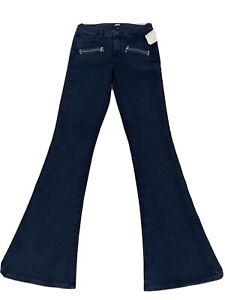 Ladies Paige Designer Flared Jeans NWT