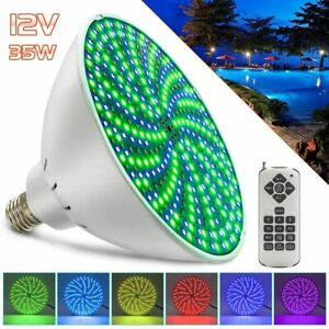 35W LED Pool Lights Bulb RGB Color Changing Swimming Pool Light Bulb