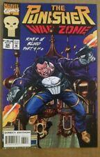 The Punisher: War Zone #34 (Dec 1994, Marvel Comics) River of Blood Part 4. VF