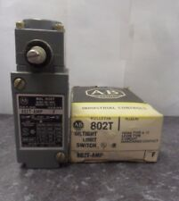 New Allen Bradley 802T-AMP SER F Oil Tight Plug-In Maintained Limit Switch NIB