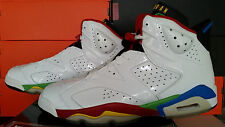 Nike Air Jordan Olympic Flag 6 VI 325387 161 White Red Green Blue 9.5