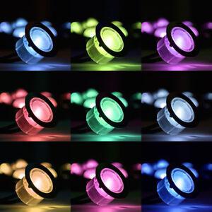 RGB Decking Lights Colour Changing Plinth Deck Kitchen Garden Bathroom Lighting