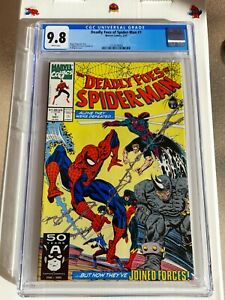 Deadly Foes Of Spider-Man #1 amazing CGC 9.8 NM/MT White Pages Rhino Sandman