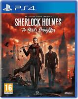 Sherlock Holmes: The Devils Daughters PS4 Playstation 4 Brand New Sealed