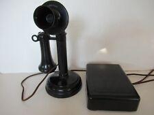 Antique Kellogg  candlestick telephone  subset ringer  Antique telephone working