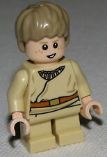 Lego Anakin Skywalker Star Wars Minifigure Short Legs Detailed Shirt Pieces