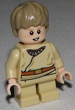Lego Anakin Skywalker Star Wars Minifigure Short Legs Detailed Shirt Pieces