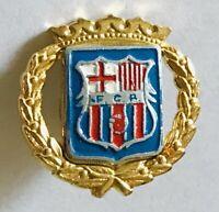 FGR Royal Crest With Wreath Lapel Pin Badge Rare Vintage (E9)