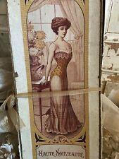 Frankreich Antik Korsett Schachtel - Antique French Corset Box
