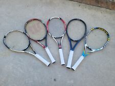 Wilson Tennis Rackets Lot Various Rackets (Custom String Job is also offered)