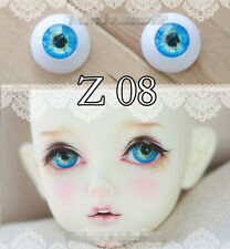 Sky Blue Eyes 1pair 12mm,14mm,16mm,18mm For BJD Doll SD Luts DOD AS GC55