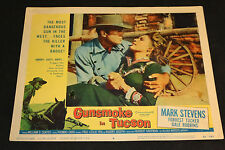 1958 Gunsmoke in Tucson Lobby Card 58/301 #6 Mark Stevens Gale Robbins (C-5/C-6)