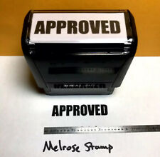 New Listingapproved Rubber Stamp Black Ink Self Inking Ideal 4913