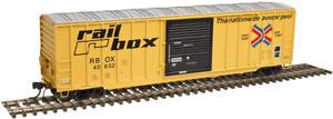 ATLAS 20013020 – 50′ Berwick Box Car Railbox #40652