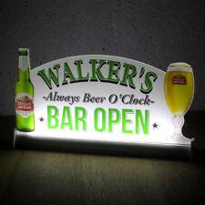 "Light Up LED Sign, Custom Home Bar Beer Neon Light Sign, Bar Open Sign,12""x6"""