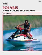 Clymer Polaris Personal Watercraft Shop Manual 1992-1995