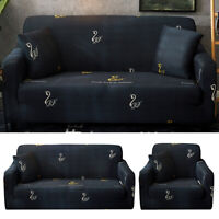 1 2 3 Seater Stretch Sofa Cover Couch Lounge Recliner Slipcover Protector