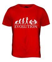 Scacchi Evolution Of Man Uomo T-Shirt Maglietta Abbigliamento Regalo Set