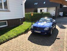 Sehr gepflegter, blauer Mercedes  SLK 200 Kompressor.