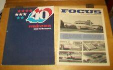 BELL AEROSPACE RENDEZVOUS MAGAZINE 40TH ANNIVERSARY. HISTORY. Vol XIV No.2 1975