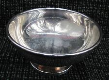 """Silver Plate 5"""" X 3"""" Bowl Marked CGH IMA ALP Made in Sweden EPNC Lovely # A L@@K"""