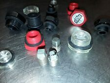 Various oil sump plugs, New.