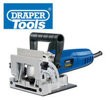DRAPER STORM FORCE BISCUIT JOINTER 900W 100MM BLADE CARRY CASE TCT TABLE
