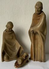 Die heilige Familie, Holz geschnitzt, groß(38 cm), Top Qualität