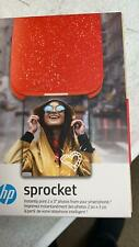 HP SPROCKET 2ND EDITION INSTANT PHOTO PRINTER 1AS90A CHERRY TOMATO