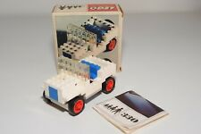 Y VINTAGE LEGO SYSTEM 330 JEEP 4X4 CAR WHITE EXCELLENT BOXED