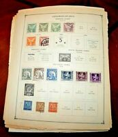 CatalinaStamps: Czechoslovakia Stamp Collection, 4413 Stamps, D307