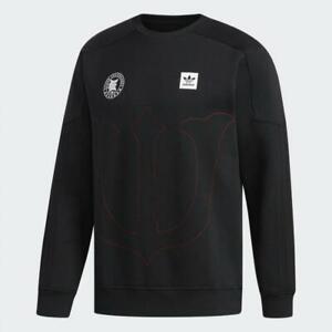 adidas x Evisen Crew Neck Sweatshirt Sizes S, M, XL Black RRP £85 Brand New RARE