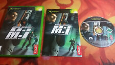 MISSION: IMPOSSIBLE XBOX BOXED BOXED