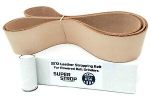 2X72 Blue Micron Polishing Sanding Belts with Cushioned Ultra Flexible Mylar Backing Ultra Fine Grit Belts 1200 Grit - 15 Micron