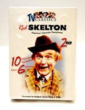RED SKELTON 2 DVD SET 10 EPISODES ORIGINAL TV CLASSICS BLACK & WHITE NEW SEALED