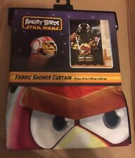 Angry Birds Star Wars Fabric Shower Curtain 70x72