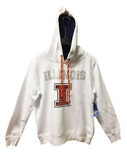 Illinois Fighting Illini Pullover Hoodie w/ Bling Sequins Size L - NWT $49.99